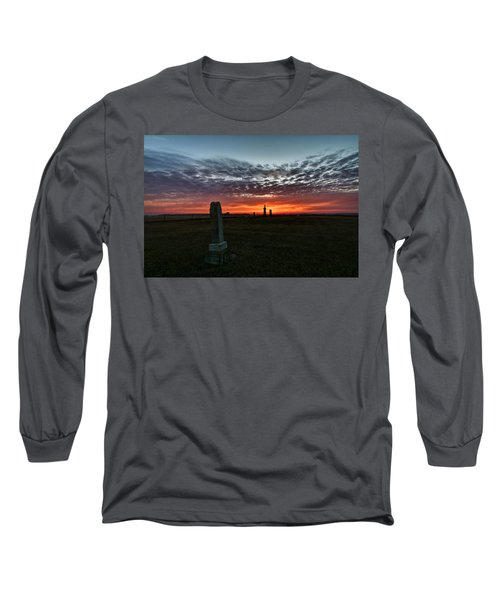 Lonely Sunset Long Sleeve T-Shirt