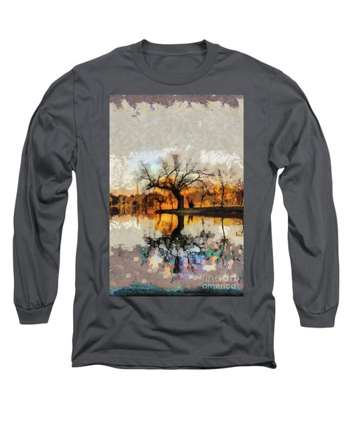 Lonely Tree And Its Thoughts Long Sleeve T-Shirt