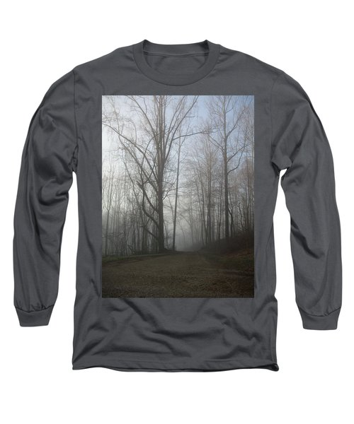 Lonesome Road Long Sleeve T-Shirt by Cynthia Lassiter