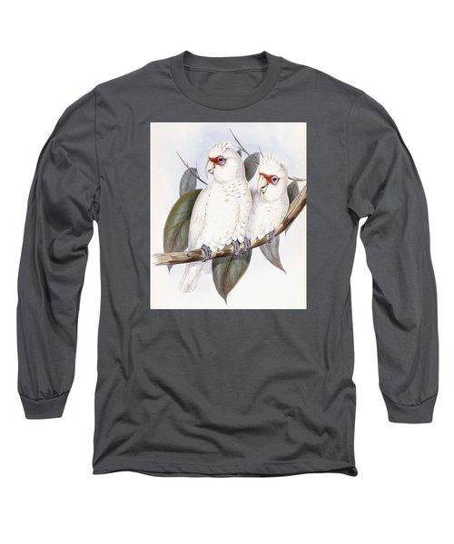 Long-billed Cockatoo Long Sleeve T-Shirt