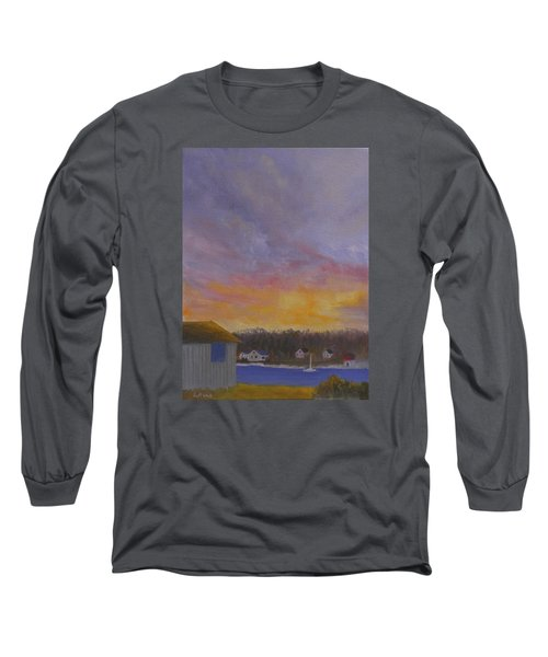 Long Cove Sunrise Long Sleeve T-Shirt