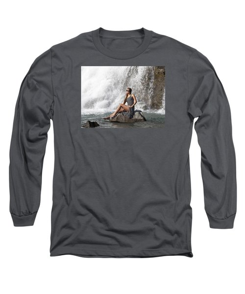 Long Leg Lady Long Sleeve T-Shirt