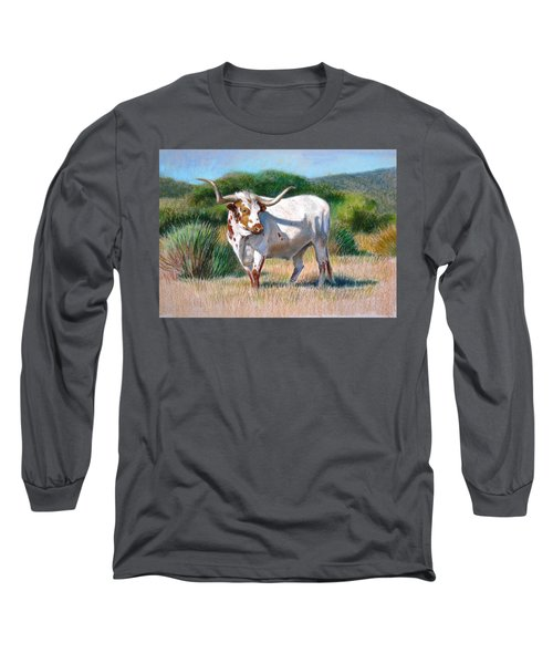 Longhorn Bull Long Sleeve T-Shirt