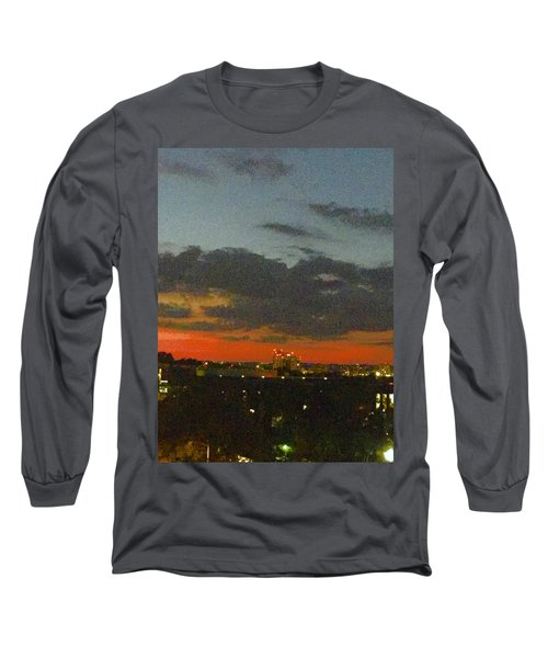Longhorn Dusk Long Sleeve T-Shirt