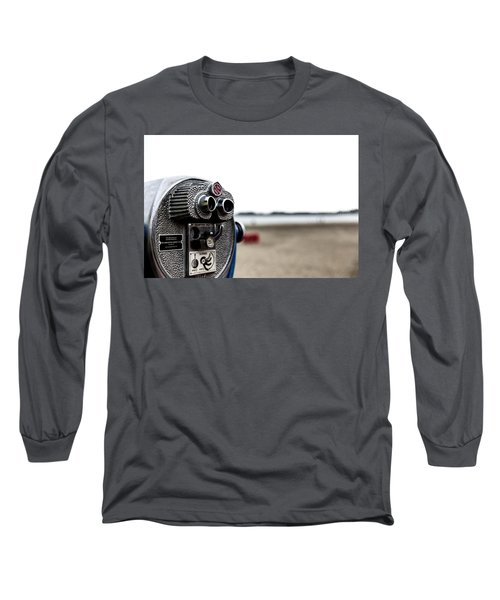 Long Sleeve T-Shirt featuring the photograph Look  by Lora Lee Chapman