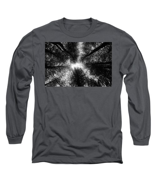 Look Up Long Sleeve T-Shirt by Martin Capek