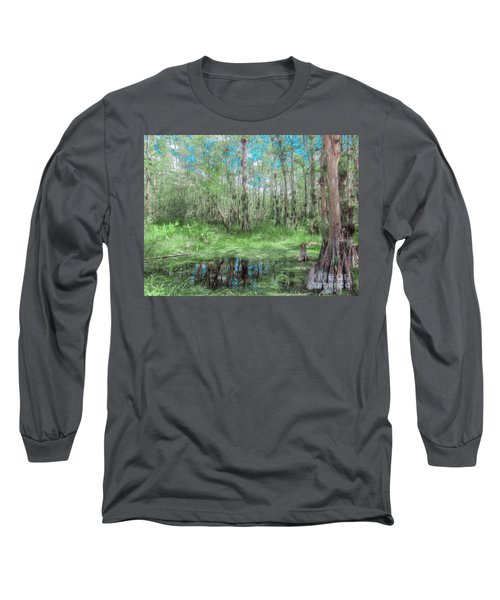 Looking Down At The Sky Long Sleeve T-Shirt