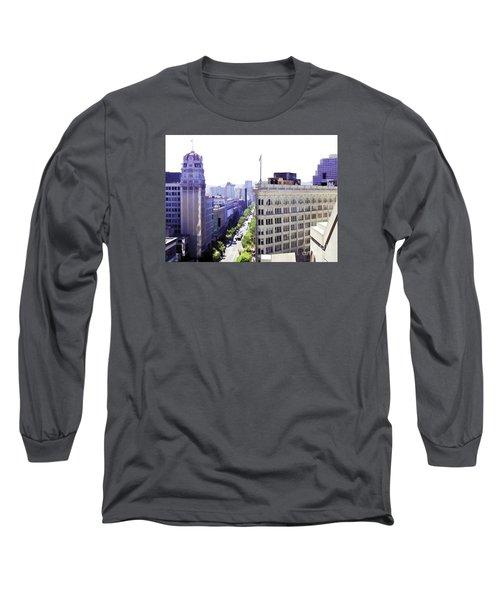 Looking Down Market Long Sleeve T-Shirt