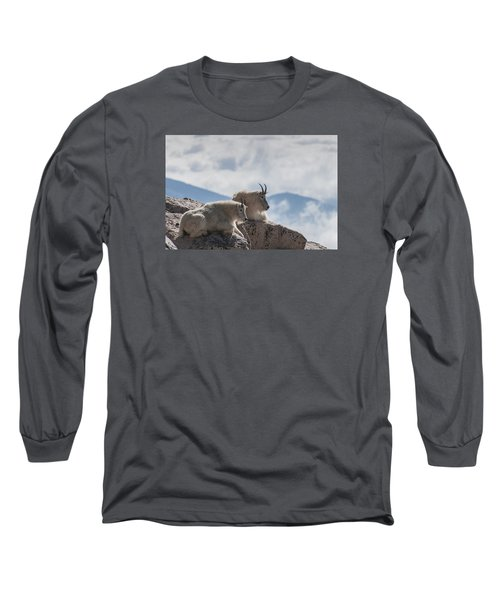 Long Sleeve T-Shirt featuring the photograph Looking Down On The World by Gary Lengyel