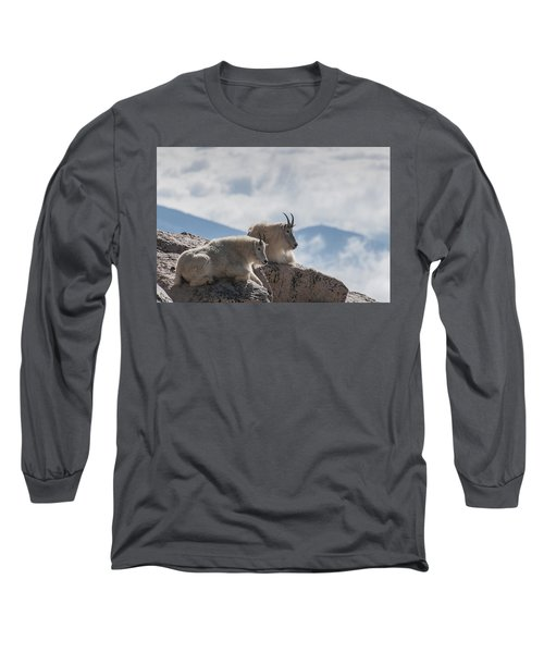 Looking Down On The World Long Sleeve T-Shirt