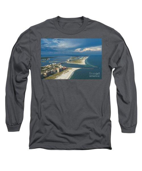 Looking East Across Perdio Pass Long Sleeve T-Shirt
