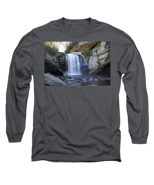 Looking Glass Falls Long Sleeve T-Shirt