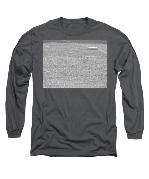 Looking In To Third Base Long Sleeve T-Shirt by Erick Schmidt