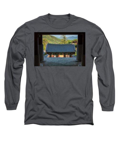 Looking Outward Long Sleeve T-Shirt