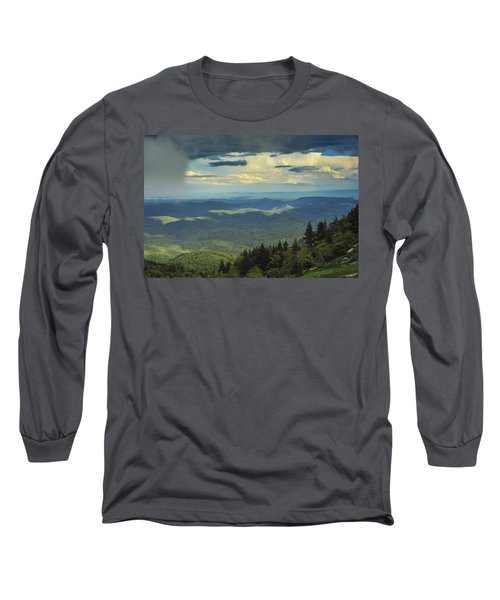 Looking Over The Valley Long Sleeve T-Shirt
