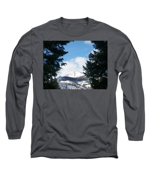 Long Sleeve T-Shirt featuring the photograph Looking Through by Jewel Hengen