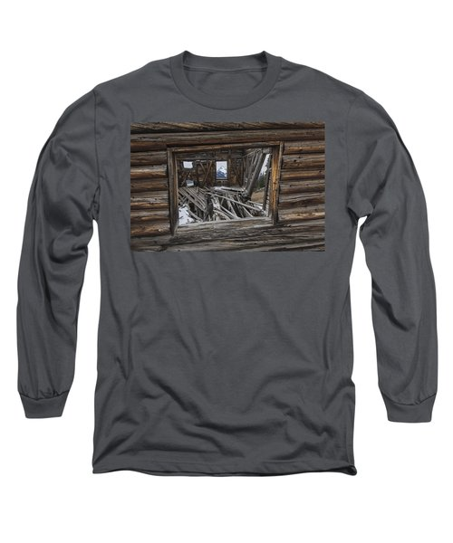 Looking Through Time Long Sleeve T-Shirt
