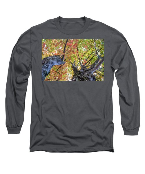 Looking Up - 9670 Long Sleeve T-Shirt