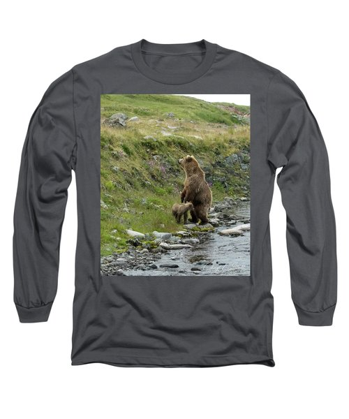 Looking Up The Bluff Long Sleeve T-Shirt
