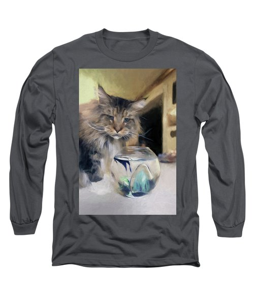 Look's Like Dinner's Just About Ready. Long Sleeve T-Shirt