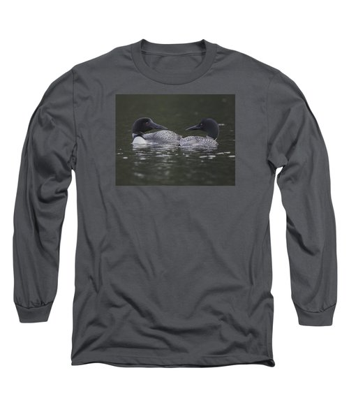 Loon Pair Long Sleeve T-Shirt