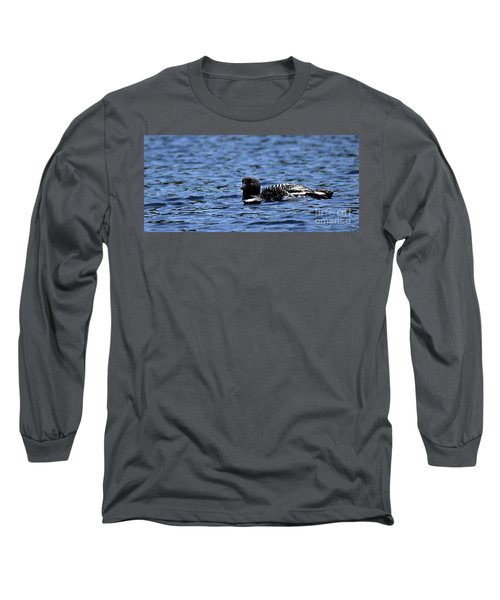 Loon Pan Long Sleeve T-Shirt by Skip Willits