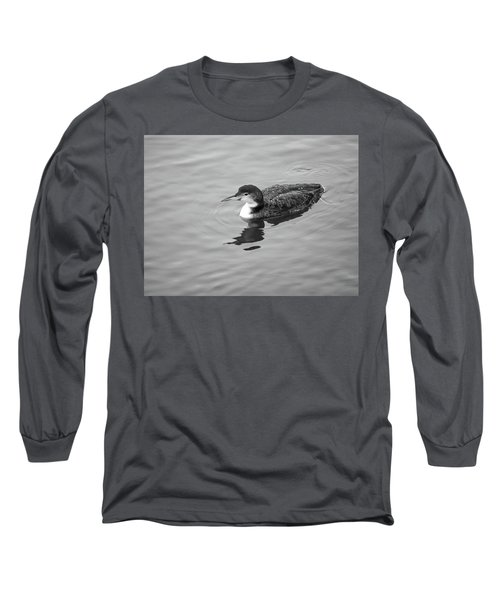 Loon  Long Sleeve T-Shirt by Trace Kittrell
