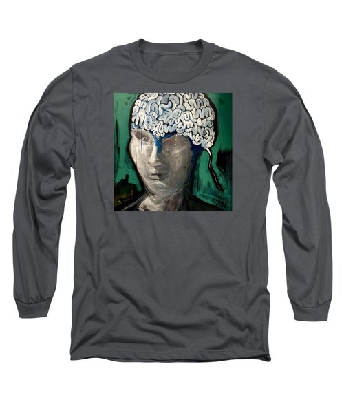 Loose Ends Long Sleeve T-Shirt by Helen Syron
