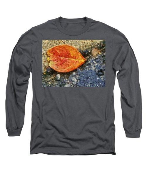 Loose Leaf Long Sleeve T-Shirt by Jeff Kolker