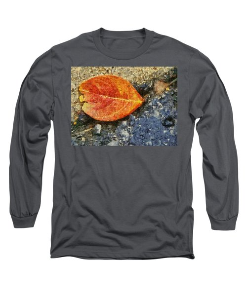 Loose Leaf Long Sleeve T-Shirt