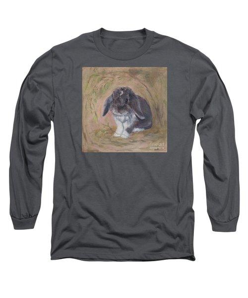 Lop Eared Rabbit- Socks Long Sleeve T-Shirt