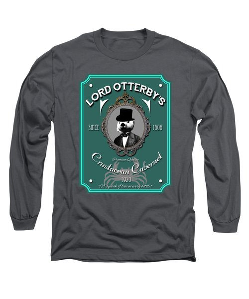 Lord Otterby's Long Sleeve T-Shirt by Eye Candy Creations