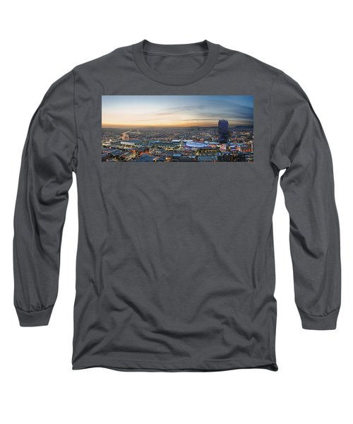 Los Angeles West View Long Sleeve T-Shirt by Kelley King