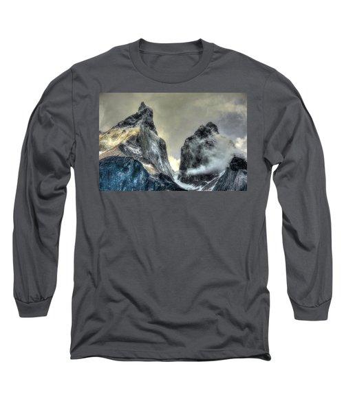 Los Cuernos-the Horns Long Sleeve T-Shirt