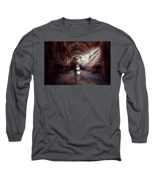 Losing My Religion Long Sleeve T-Shirt by Nathan Wright
