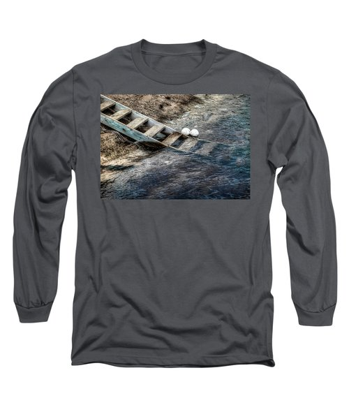 Long Sleeve T-Shirt featuring the photograph Lost Boys by Wayne Sherriff