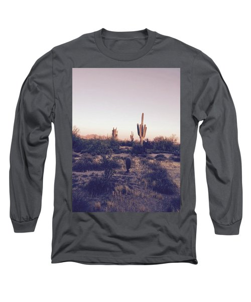 Lost In The Desert Long Sleeve T-Shirt