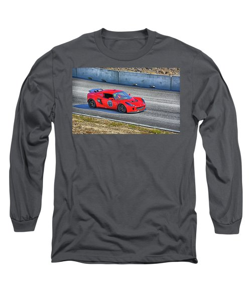 Lotus 87 Northeast Track Days Long Sleeve T-Shirt by Mike Martin
