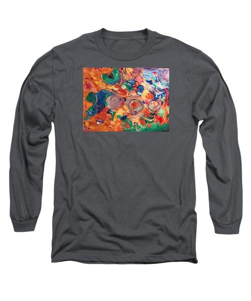 Lotus Blooms Long Sleeve T-Shirt