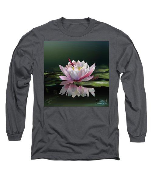 Lotus Meditation Long Sleeve T-Shirt