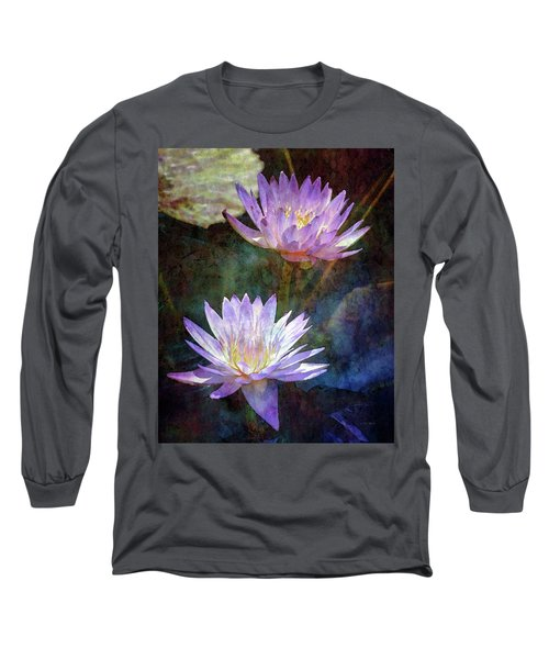 Lotus Reflections 2980 Idp_2 Long Sleeve T-Shirt