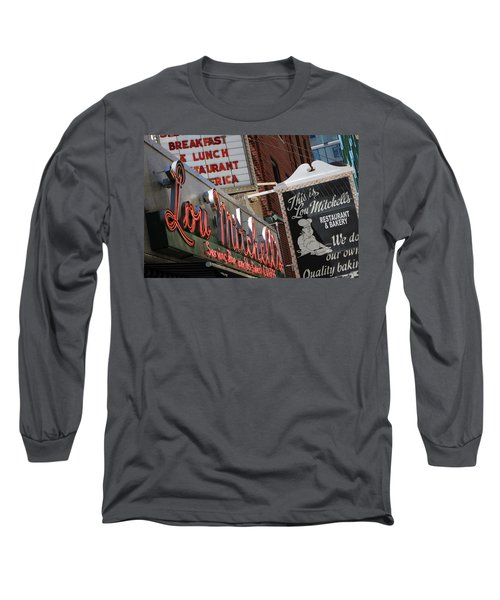 Lou Mitchells Restaurant And Bakery Chicago Long Sleeve T-Shirt