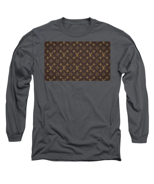 Louis Vuitton Texture Long Sleeve T-Shirt