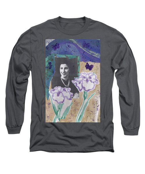 Louise In Boston 1944 In Memory Of My Mother Long Sleeve T-Shirt