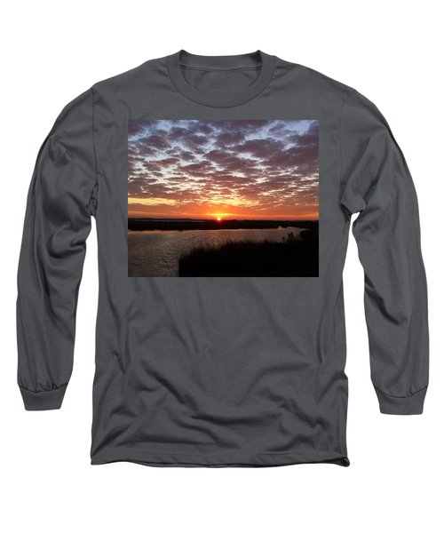 Long Sleeve T-Shirt featuring the photograph Louisiana Morning by John Glass