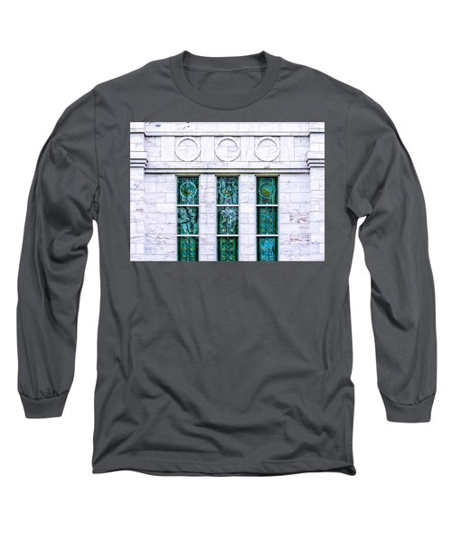 Louisville Temple Details Long Sleeve T-Shirt