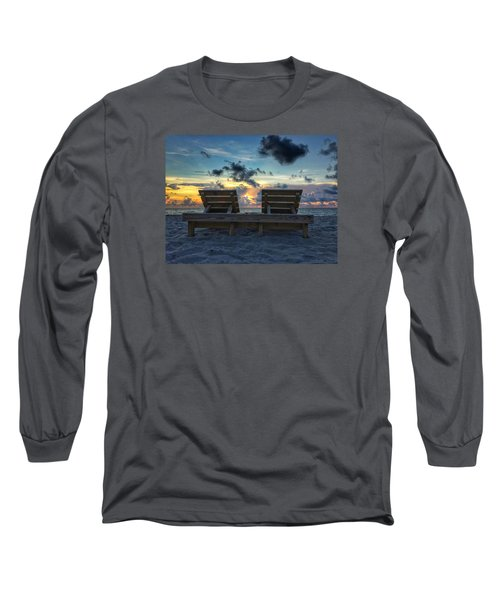 Lounge For Two Long Sleeve T-Shirt