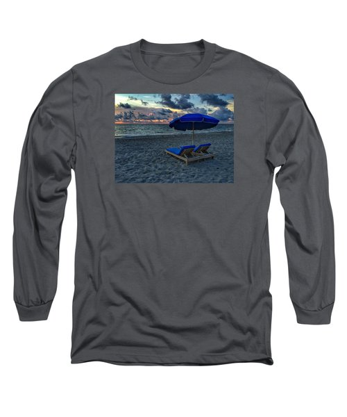 Lounging By The Sea Long Sleeve T-Shirt