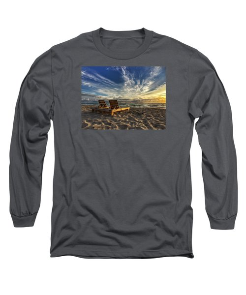 Lounging For 2 Long Sleeve T-Shirt