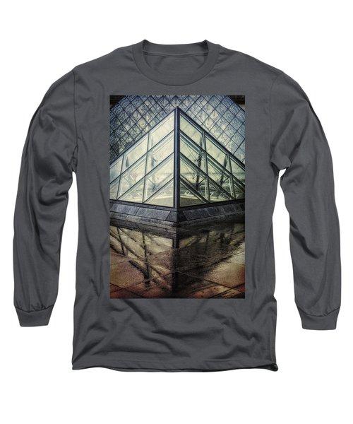 Louvre Pyramids Paris II Long Sleeve T-Shirt